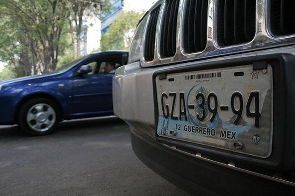 placa de auto en bolivia