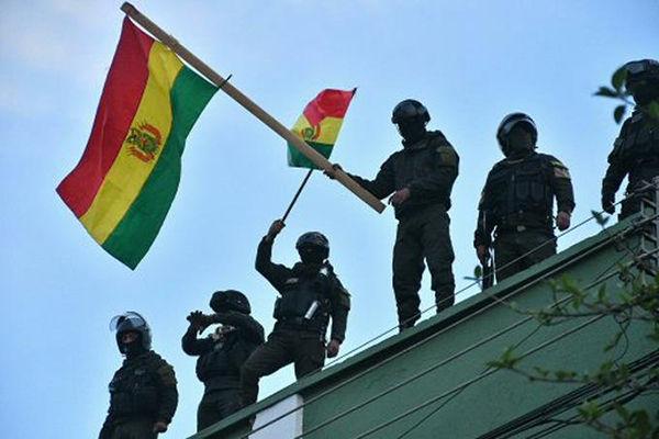 policia bolivia