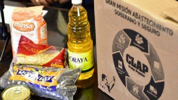 productos de la bolsa CLAP