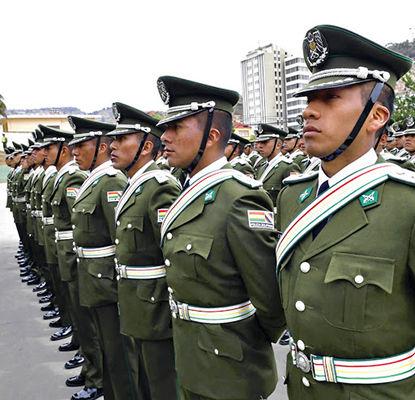 requisitos para ser policia