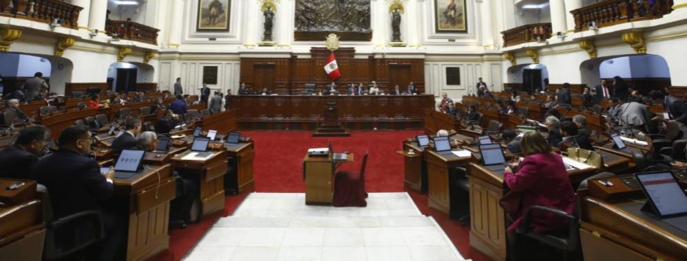 Congreso peruano aprueba reforma sobre inscripción y cancelación ...
