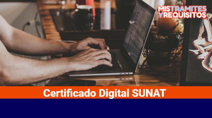 Certificado Digital SUNAT