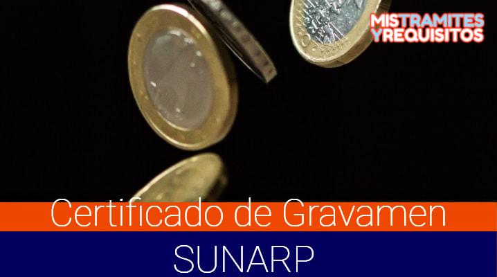 Conoce como obtener un Certificado de Gravamen SUNARP