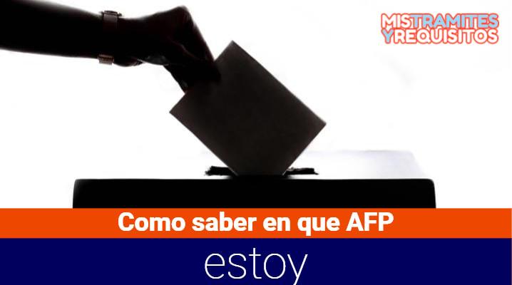 ¿Cómo saber en que AFP estoy afiliado? – AFP Perú