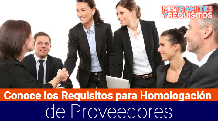 Requisitos para Homologación de Proveedores