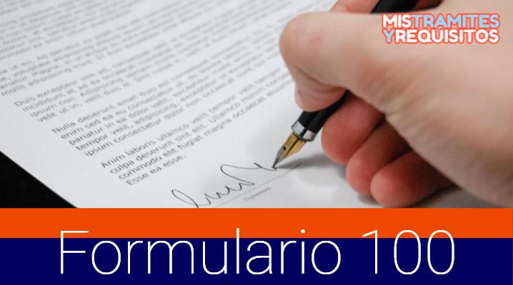 Conoce Como Tramitar el NUEVO Formulario 100 ¡Ahora Digital!