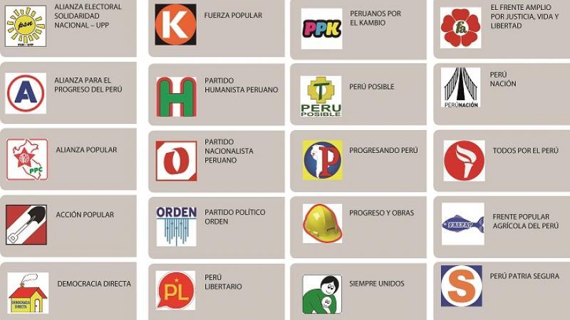 JNE: Símbolos de partidos políticos y de alianzas electorales ...