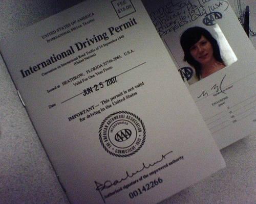 ¿Que es el Permiso internacional de conducir?
