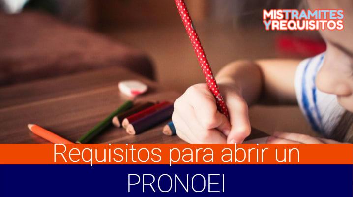 Descubre los Requisitos para abrir un PRONOEI en el Perú