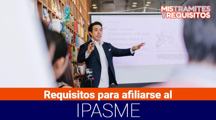 Requisitos para afiliarse al IPASME para personal del Ministerio de Educación