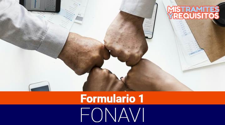Formulario 1 Fonavi