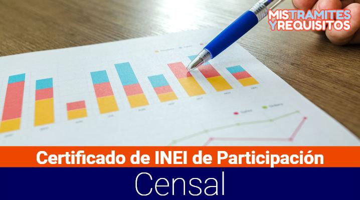 Conoce cómo obtener el Certificado de INEI de Participación Censal