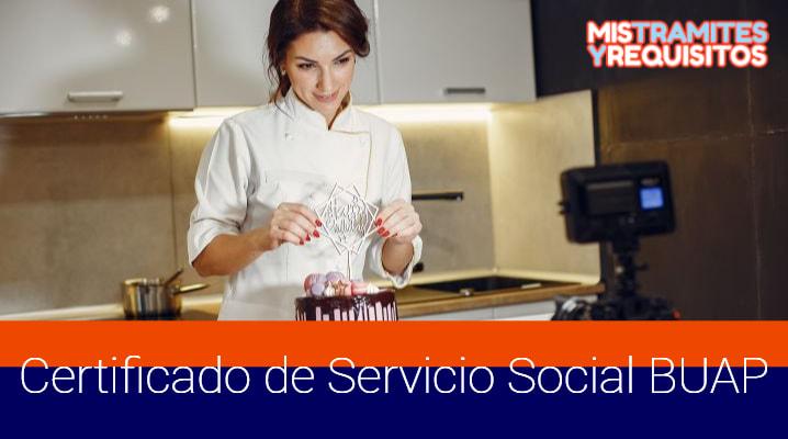 Certificado de Servicio Social BUAP