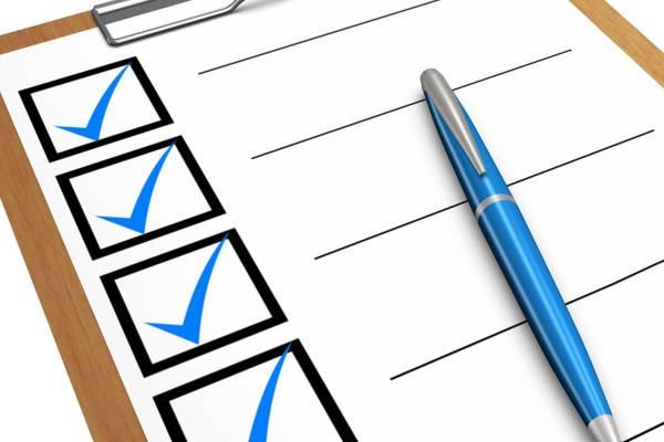 Como saber Mi Clave SOL checklist