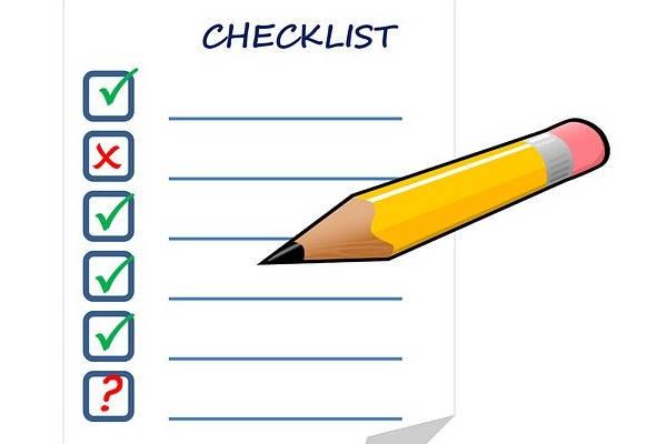 Como saber si el nombre de mi empresa ya existe en Perú checklist