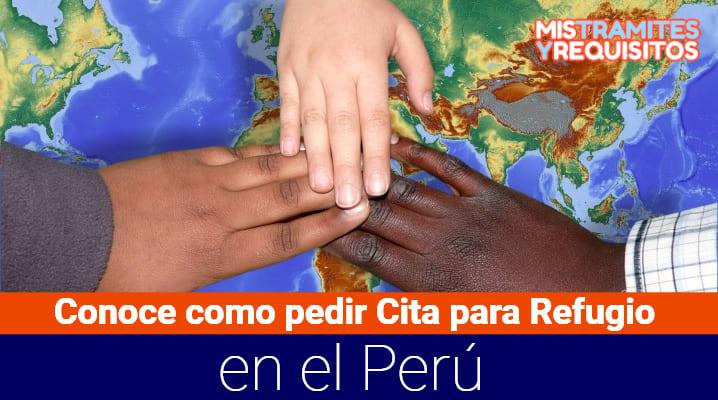 Conoce cómo pedir Cita para Refugio en el Perú