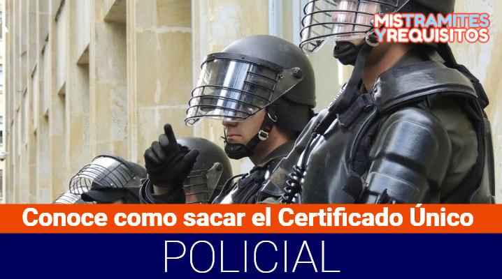 Certificado Único Policial