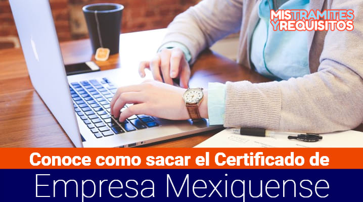 Certificado de Empresa Mexiquense