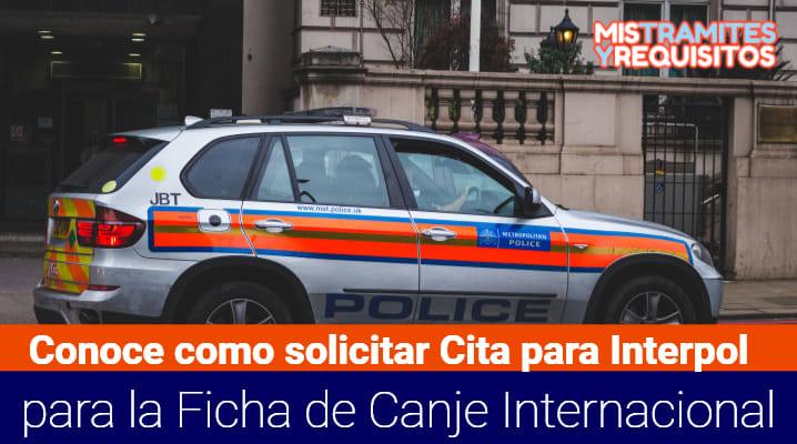 Cita para Interpol
