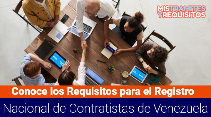 Requisitos para el registro nacional de Contratistas