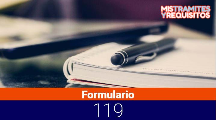 Conoce como presentar el Formulario 119 SUNAT