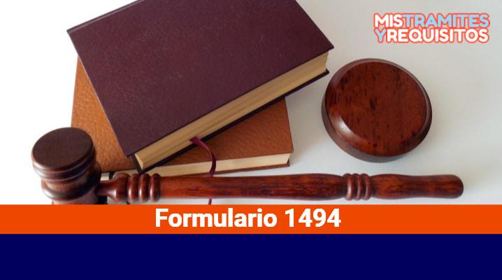 Formulario 1494