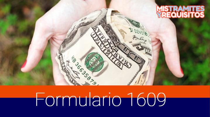 Formulario 1609 para Solicitar la Suspensión de Retenciones de Cuarta Categoría