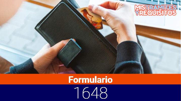 Como llenar el Formulario 1648 para Solicitud de Compensación SUNAT