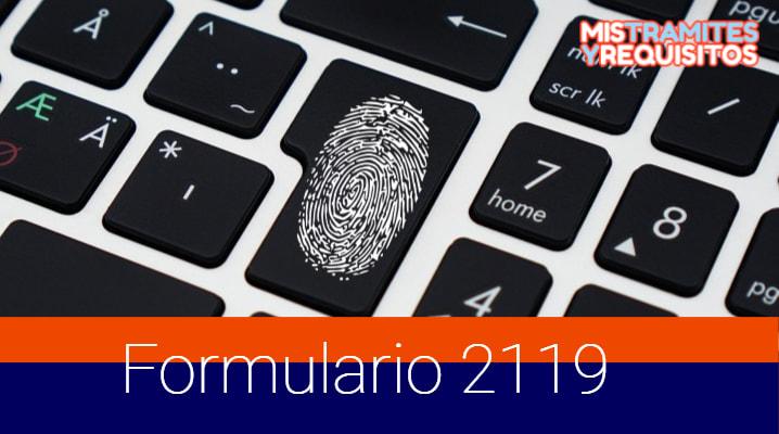 Conoce como completar el Formulario 2119 para Inscripción al RUC