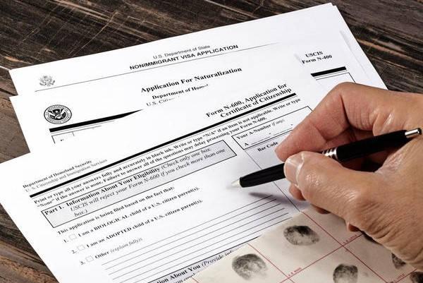 Formulario 825 llenando formulario
