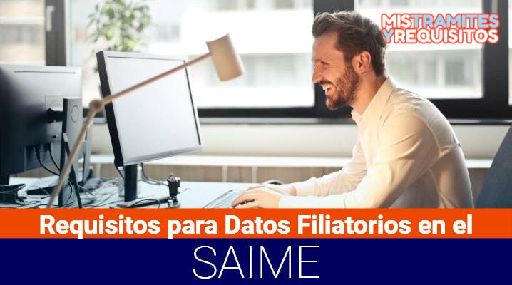 Aquí podrás conocer los Requisitos para Datos Filiatorios en el SAIME