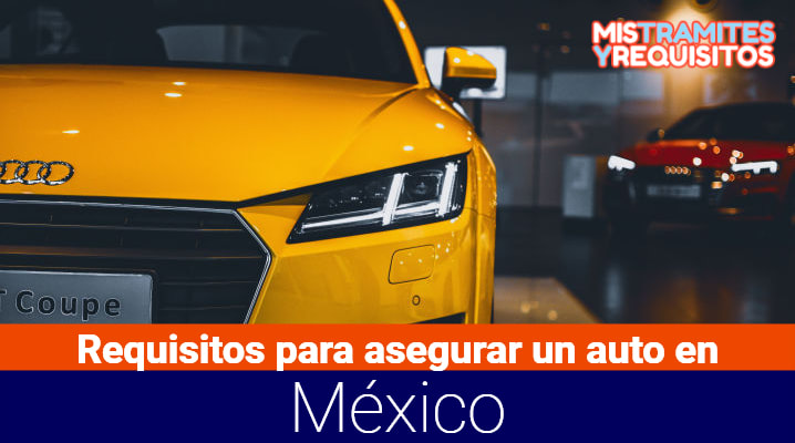 Requisitos para asegurar un auto