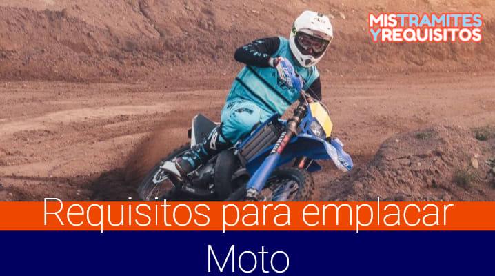 ¿Cuáles son los Requisitos para emplacar Moto en México?