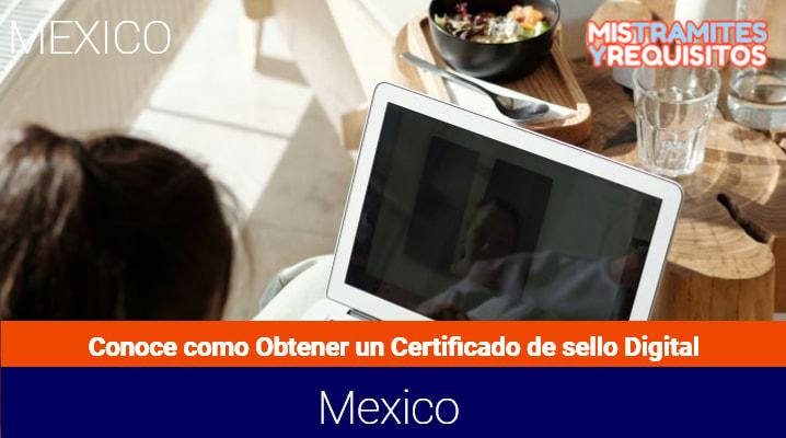 Conoce como obtener un Certificado de Sello Digital
