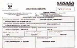 ¿Cómo tramitar el Certificado Fitosanitario?