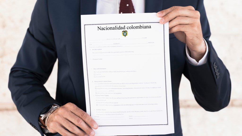 Cómo adquirir la nacionalidad colombiana - Servicio Legal