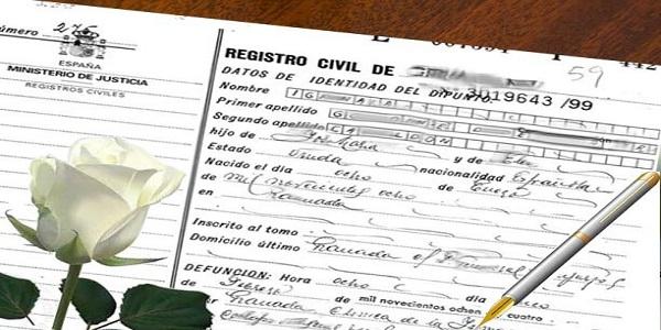 Certificado de Defunción