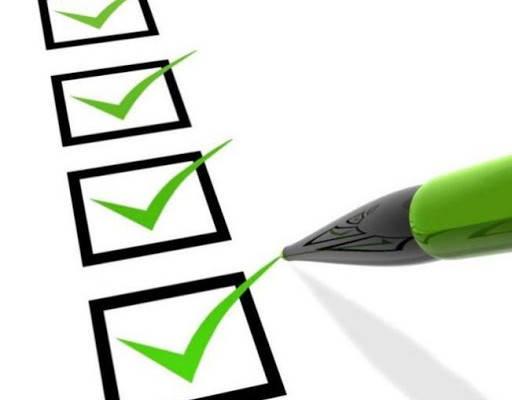 Cita para Cedula Profesional checklist