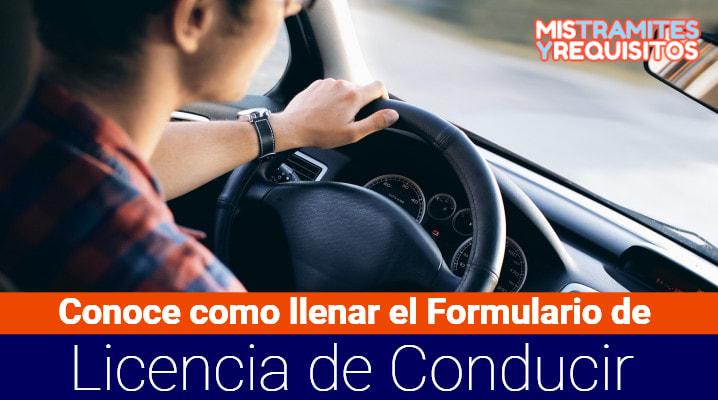 Formulario de Licencia de Conducir