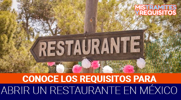 Requisitos para abrir un restaurante