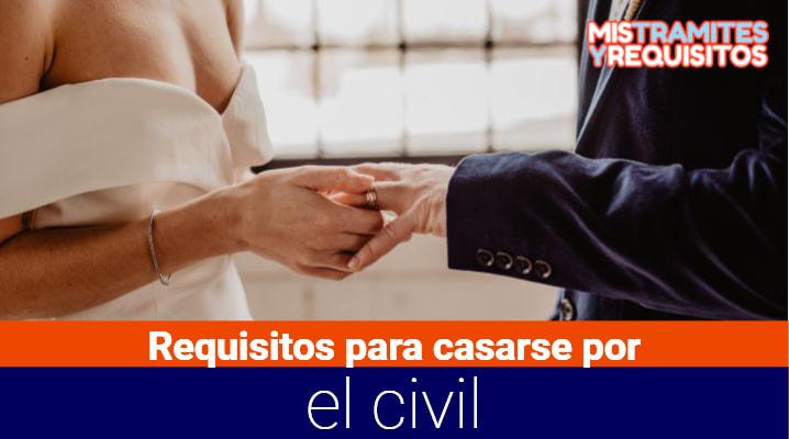 Conoce los Requisitos para casarse por el civil en República Dominicana
