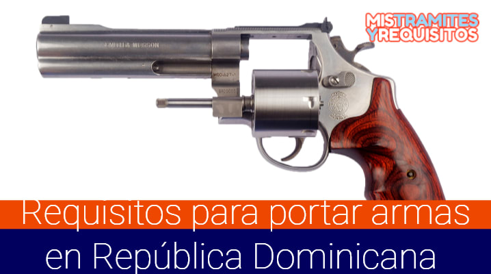 Requisitos para portar armas en República Dominicana