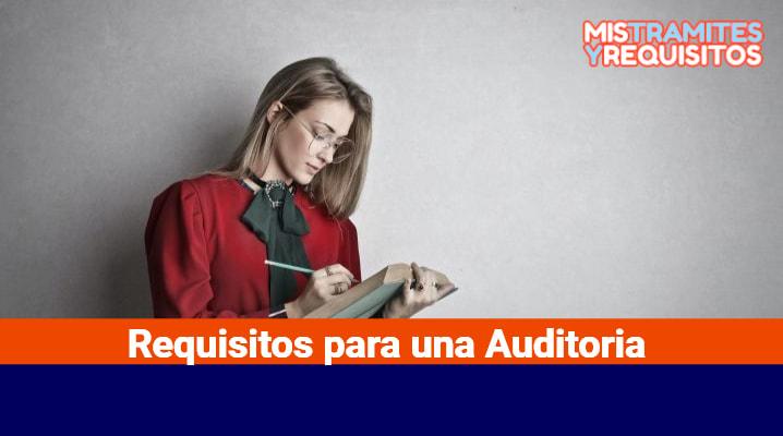 Requisitos para una Auditoria