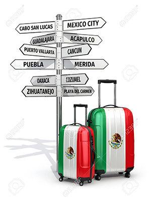 como viajar a mexico
