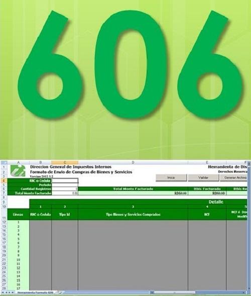 Formulario 606