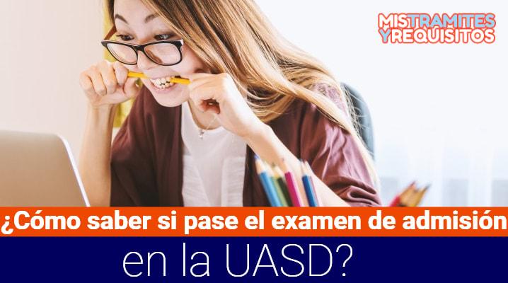 Examen de admisión UASD