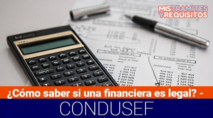 ¿Cómo saber si una financiera es legal? – CONDUSEF