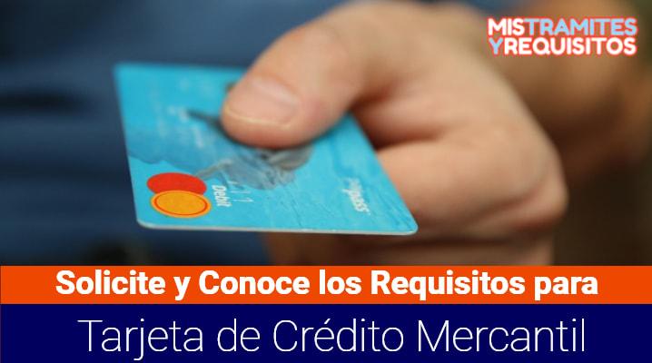 Solicite y Conoce los Requisitos para Tarjeta de Crédito Mercantil