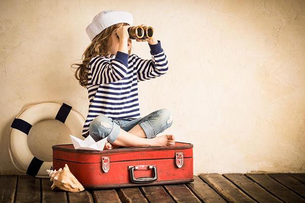 viaje niños