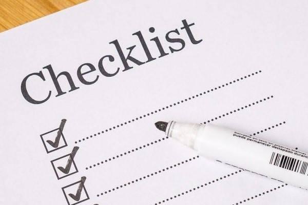 Certificado Digital checklist